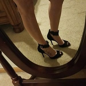 Size 7 Jessica Simpson Heels Embellished Straps